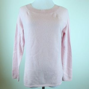 Charter Club 2ply Cashmere scoop neck sweater M